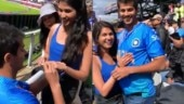 Man proposes to girlfriend at India vs Pak match. Internet loves viral video