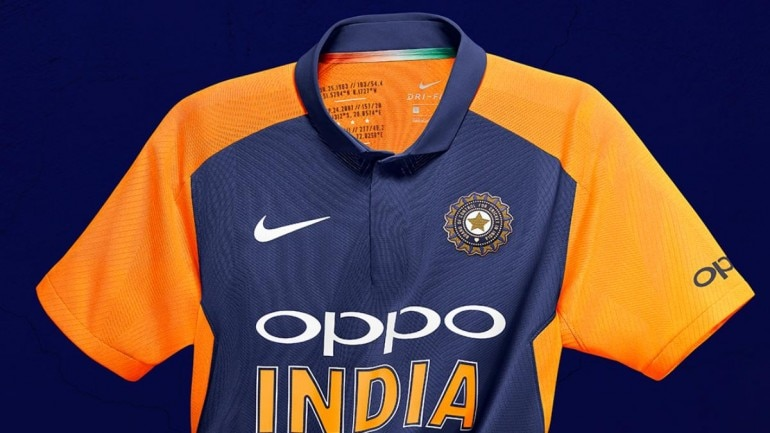 save off 0f08a a90ad World Cup 2019: This is India's orange jersey for match vs ...