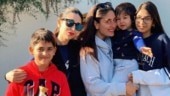 Karisma Kapoor, Samaira-Kiaan join Saif-Kareena and Taimur in London. See adorable pic