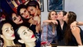 Karisma Kapoor rings in 45th birthday with BFFs Kareena Kapoor and Malaika Arora in London
