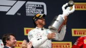 French GP: Lewis Hamilton wins to stretch Mercedes's triumphant run to 10 races