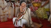 PM Narendra Modi offers prayers at Guruvayur temple in Kerala ahead of Maldives trip
