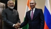 PM Narendra Modi meets Russian President Vladimir Putin in Bishkek