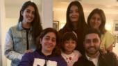 It's fam jam for Aishwarya Rai, Abhishek Bachchan, Aaradhya and Navya Naveli in NYC. See pic