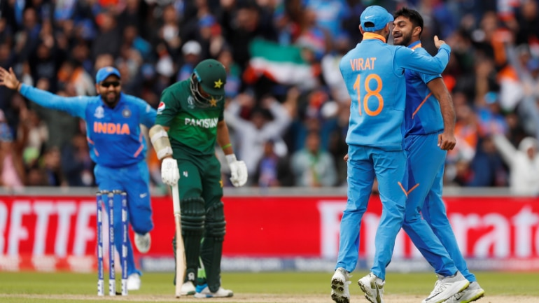 Image result for india vs pakistan world cup 2019