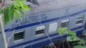 3 dead as Howrah-Jagdalpur Samaleshwari Express derails, engine catches fire