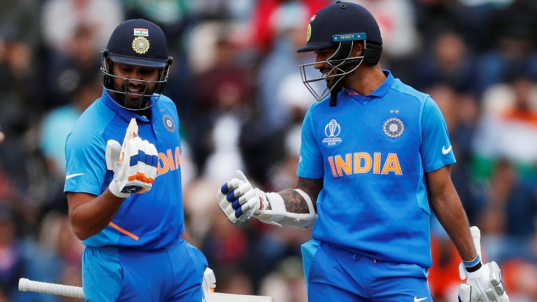 Rohit Sharma and Shikhar Dhawan are one of the most successful opening pairs in ODI cricket history (Reuters Photo)