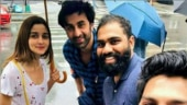 Alia Bhatt and Ranbir Kapoor bring sunshine on a rainy day in NYC. See pic