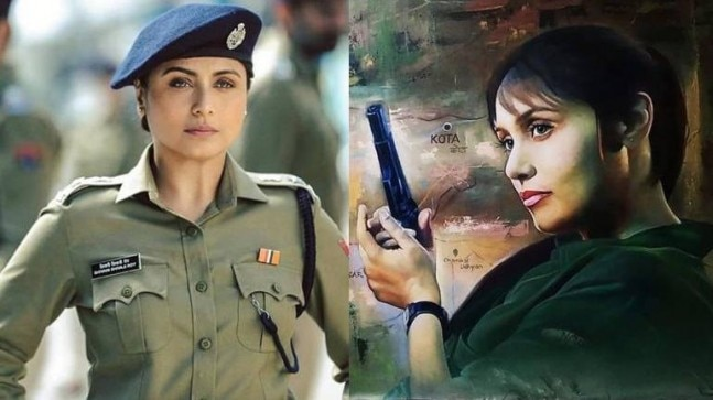 Mardaani 2: Rani Mukerji gets a special painting from film's art director