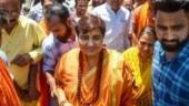 MP Sadhvi Pragya Thakur not to be in court this week