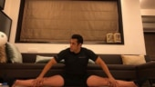 Salman Khan pulls off perfect split during workout session. You're on fire, says Internet