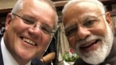 Australian PM Scott Morrison takes selfie with Indian PM, says kitna accha hai Modi!