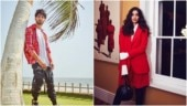 Images posted on Instagram by Shahid Kapoor (L) and Sonam Kapoor (R)