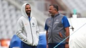 World Cup 2019: Shikhar Dhawan in high spirits at India training session