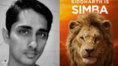 Siddharth dubs for Tamil version of The Lion King. Can't wait to see my new avatar