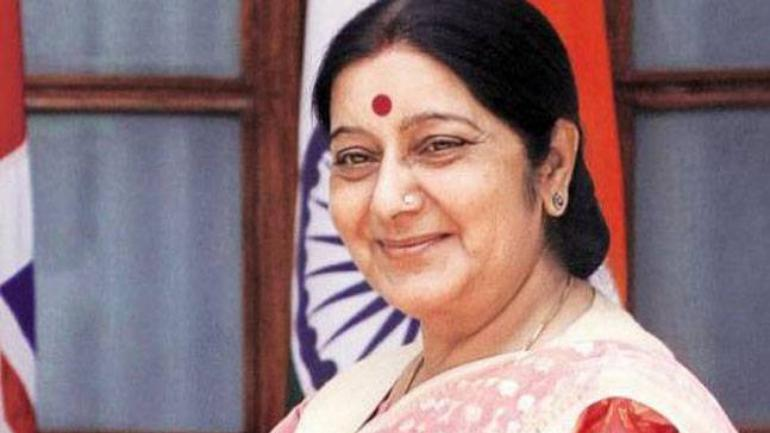 Sushma Swaraj rubbishes rumours of appointment as Andhra Governor after Harsh Vardhan tweets congratulations