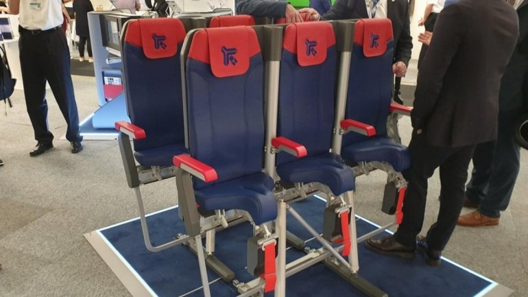 Airlines might introduce standing seats in flights Photo: Twitter/ Tim Robinson