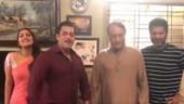 Salman Khan welcomes Pramod Khanna as Chulbul Pandey's father in Dabangg 3