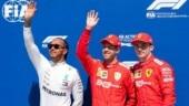 Canadian Grand Prix: Sebastian Vettel pips Lewis Hamilton to grab pole position