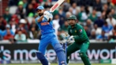 India vs Pakistan: Virat Kohli got to his 51st ODI fifty in their World Cup 2019 match in Manchester (Reuters Photo)