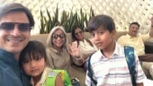 Vivek Oberoi shares sneak-peek of kids Vivaan Veer and Ameyaa Nirvana chilling in pool on vacay