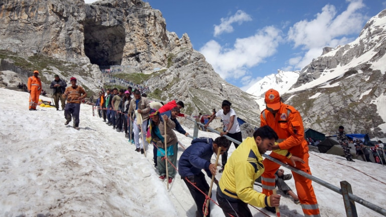Image result for who discovered amarnath cave