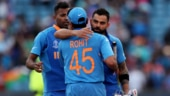 Virat Kohli, Rohit Sharma and Hardik Pandya have all made it to Sachin Tendulkar's World Cup XI (Reuters Photo)