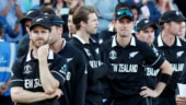 Kane Williamson and teammates looks dejected as they await their runners up medals. (Reuters Photo)