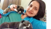 Woman travels 349km to find pet