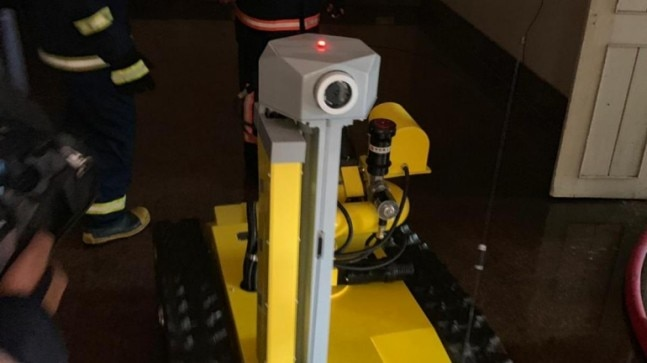 Mumbai MTNL building fire: Meet the robot which helped in carrying out fire operations