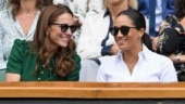 Kate Middleton and Meghan Markle at Wimbledon 2019