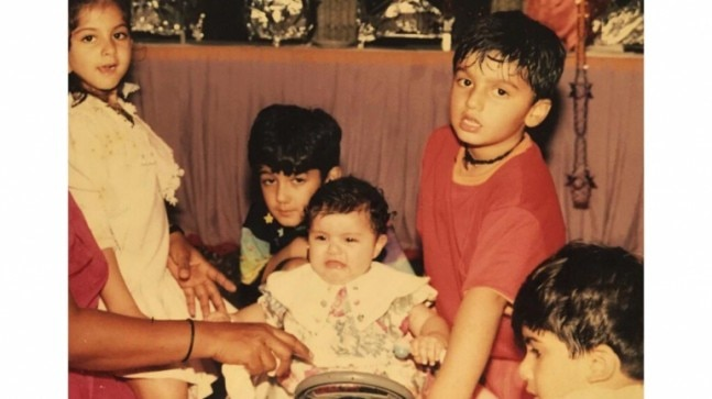 Anshula Kapoor shares adorable throwback pic with Arjun Kapoor: We were a cute mess