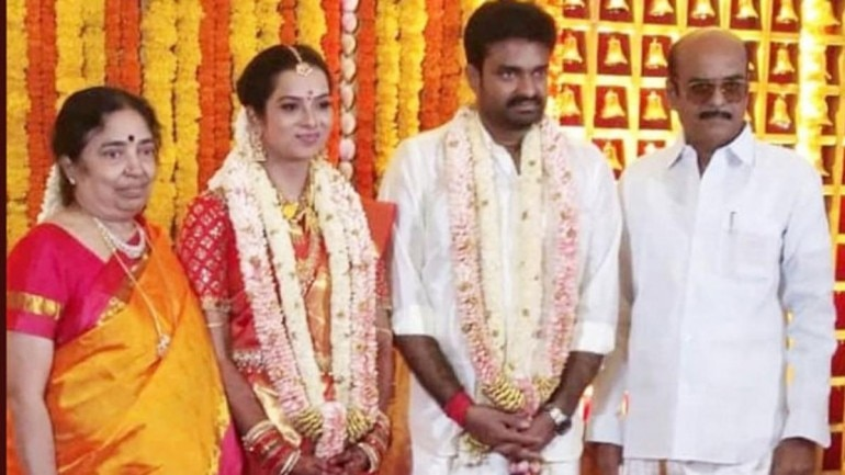 Filmmaker AL Vijay in a Private Ceremony married Dr. Aishwarya