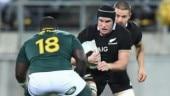 New Zealand's All Blacks team takes dig at ICC