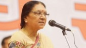 Anandiben Patel made UP governor, Lal ji Tandon to replace her in Madhya Pradesh