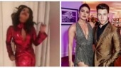 Priyanka Chopra dances in gorgeous red dress on birthday and Nick Jonas is all heart. Watch video