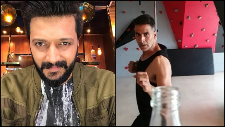 Riteish Deshmukh and Akshay Kumar.