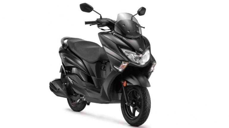 Suzuki Burgman Street Matte Black colour edition launched