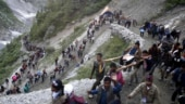 Amarnath yatra suspended for the day due to bad weather