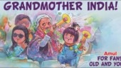 Amul celebrates 87-year-old Charulata Patel with adorable doodle. Calls her, Grandmother India