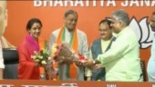 Ex-Congress leader Sanjay Sinh, wife Ameeta Sinh join BJP