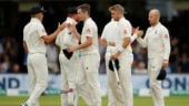 Chris Woakes, Stuart Broad bowl out Ireland for 38 to help England storm to victory