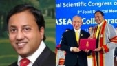 Padma Shri awardee breast surgeon Raghu Ram conferred Thailand's Royal College of Surgeons honorary fellowship