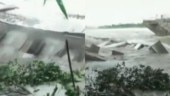Assam floods: School building collapses in seconds as Brahmaputra water level crosses danger mark | Watch