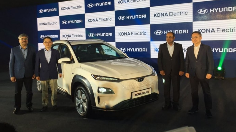 Hyundai unveils India's first electric SUV at ₹25.30 lakh