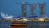 Marina Bay Sands hotel in Singapore Photo: Reuters