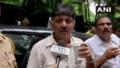 Shivakumar detained after he refuses to leave Mumbai hotel, Ghulam Nabi Azad detained in Bengaluru