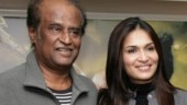 Soundraya shares throwback video of Rajinikanth returning from Singapore after medical treatment. Watch