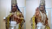 TikTok user dresses up as God and takes #BottleCapChallenge to a new level. Watch viral video