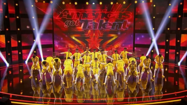 America S Got Talent Mumbai Group Impresses Judges With Death